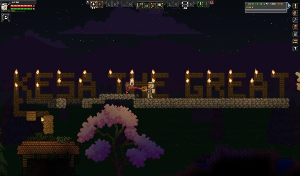 Kesa the Great Starbound screenshot